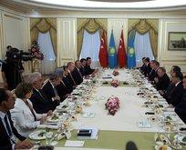 Türkiye ile Kazakistan arasında 590 milyon dolarlık imza