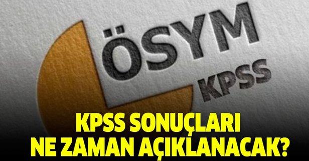 ÖSYM Başkanı açıkladı! KPSS sonuçları ne zaman açıklanacak?
