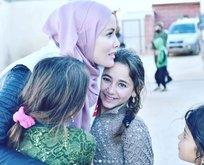 Gamze Özçelik İdlib'de...