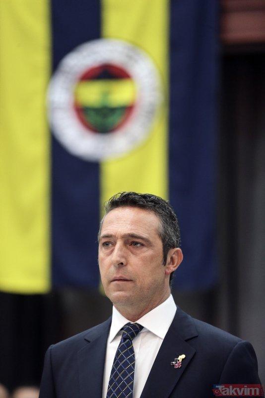 Fenerbahçe Başkanı Ali Koç Yüksek Divan Kurulu'nda açıklamalarda bulundu