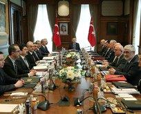 Başkan Erdoğan başkanlığında Beştepe'de kritik toplantı