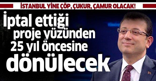 İstanbul 25 yıl öncesine dönecek!