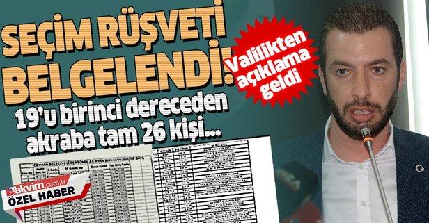 Ceyhan Belediyesi'nde seçim rüşveti skandalı