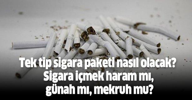 Sigara içmek haram mı?