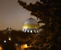 İsrail'den Mescid-i Aksa'ya alçak saldırı!