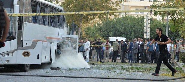 Mersin'deki polis aracına saldırıyla ilgili yeni gelişme