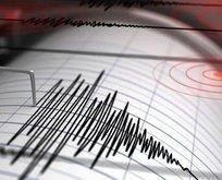 Hatay'da korkutan deprem!