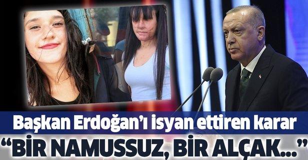 Erdoğan'dan Berfin Özek davasındaki karara sert tepki