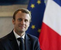 Fransa'da ilklerin cumhurbaşkanı Macron!