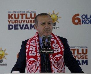 Cumhurbaşkanı Erdoğandan sert sözler