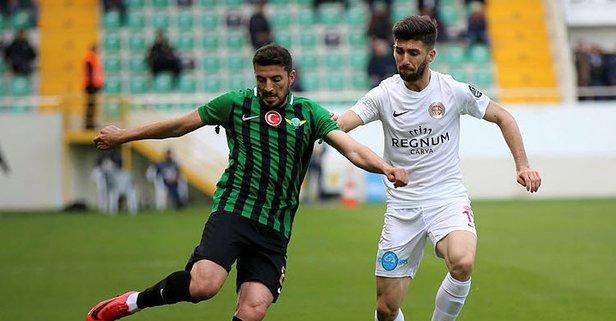 Akhisarspor Antalyaspor'a boyun eğdi