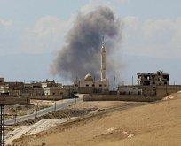 Rusya ve Rejim İdlibi vurdu!