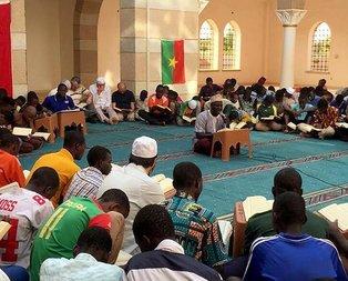 Burkina Fasoda Zeytin Dalı Harekatı için dua