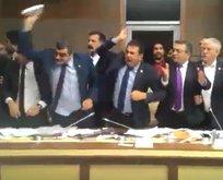 CHP ve HDPli vekillerden büyük provokasyon