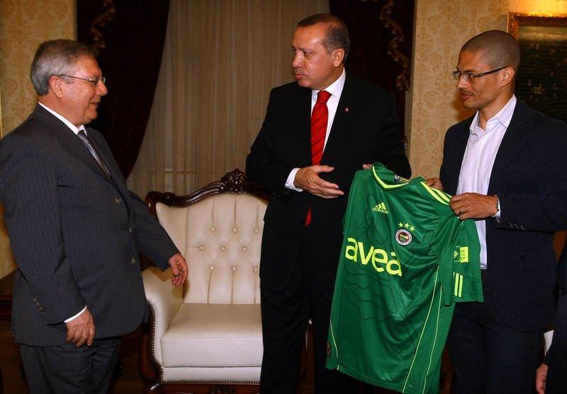 Alex, Başbakan Erdoğanla