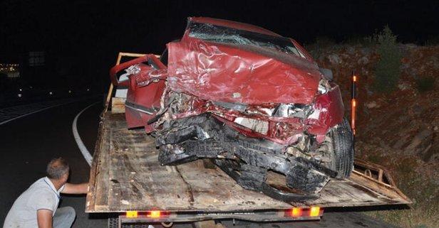 Korkunç kaza! Araçlar bu hale geldi