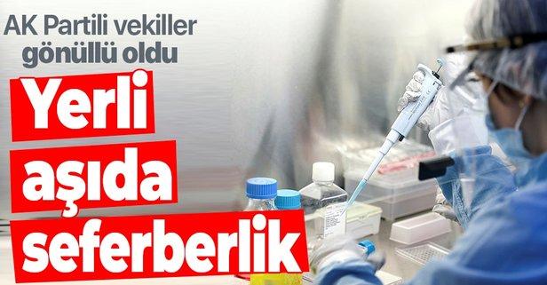 Yerli koronavirüs aşısında seferberlik