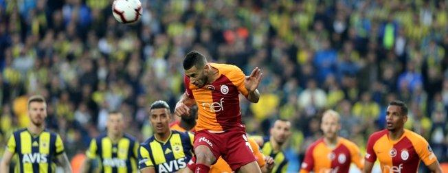 Kadıköy'de gelenek bozulmadı   Fenerbahçe 1-1 Galatasaray