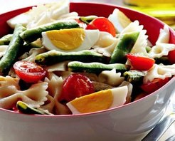 Baklalı Makarna Salatası Tarifi
