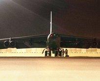 İran'ın 'Bir füze ile yok olur' tehdidinin ardından uçan kaleler Katar'a indi!