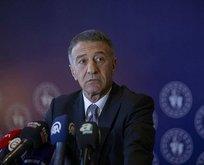 Trabzonspor Başkanı Ahmet Ağaoğlu'na 75 gün ceza