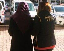 DEAŞ'lı kadın terörist tutuklandı
