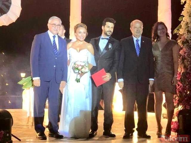 Ziynet Sali ile Erkan Erzurumlu Kuzey Kıbrıs Türk Cumhuriyet'inde evlendi!