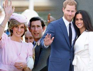 Prenses Diana hakkında şok gerçek! Meghan Markle ile evlenen Prens Harry'nin babası kim?