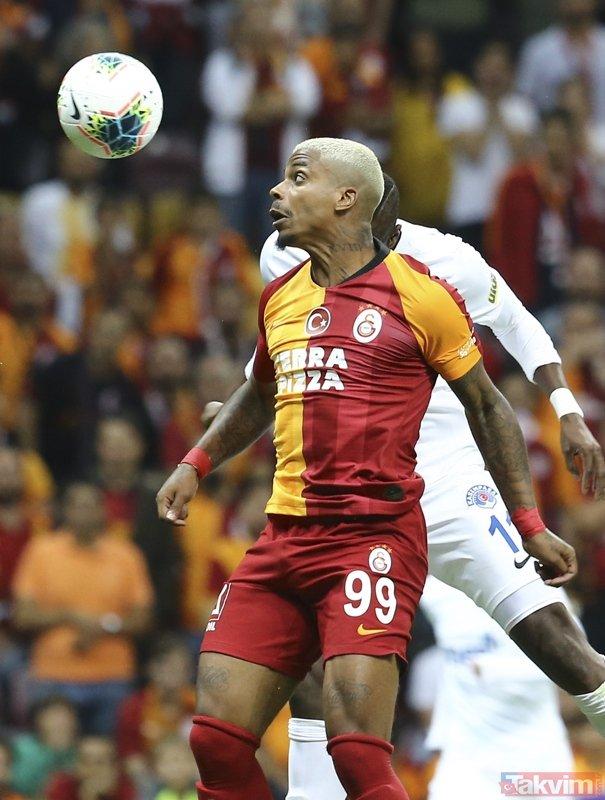 Galatasaray-Kasımpaşa karşılaşmasından kareler