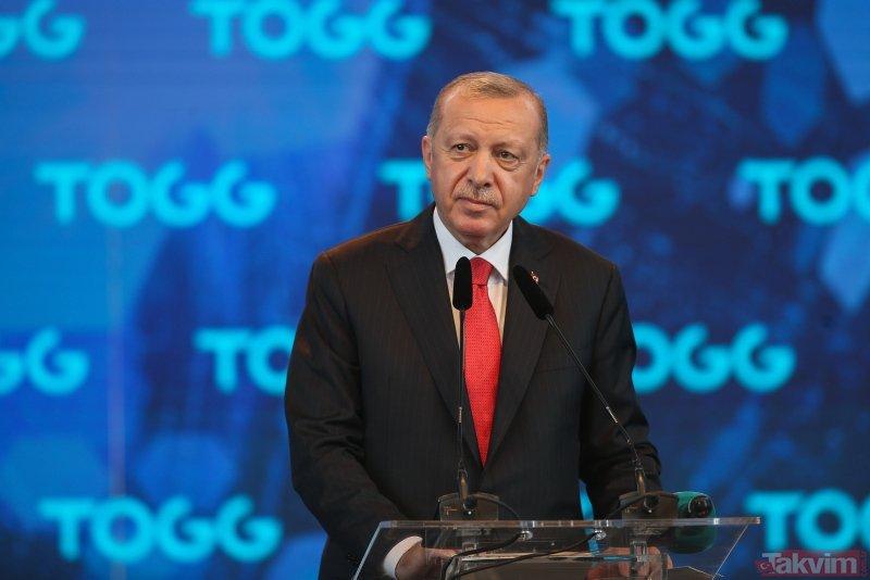 TOGG'un üretileceği fabrikanın temeli Başkan Erdoğan'ın katıldığı törenle atıldı! İşte tarihi günden kareler...