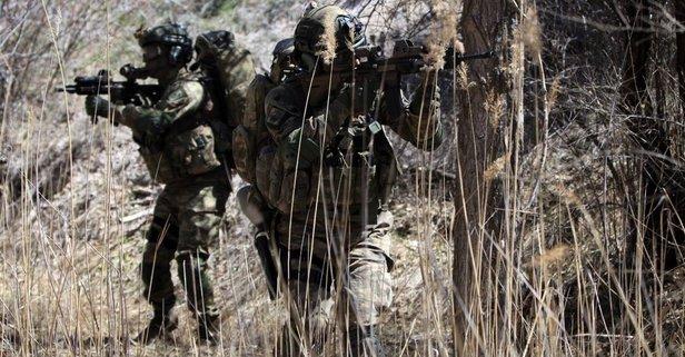 Bölücü terör örgütünü bitirme faaliyetlerinden güzel haber