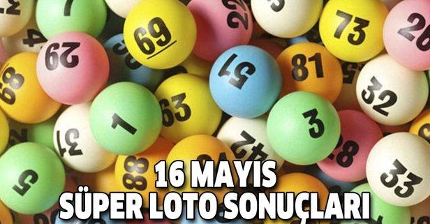 16 Mayıs Süper Loto sonuçları açıklandı
