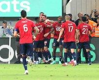 Lille Fransa Süper Kupası'nı kazandı!