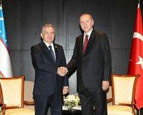 Başkan Erdoğan'dan Bakü'de kritik temas!