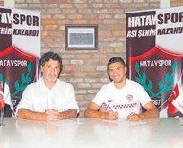 Hatayspor Santos'a 1 senelik imza attırdı
