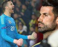 Harun Tekin penaltıyı kurtardığında Volkan Demirel...