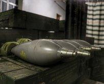 YPG'nin deposunda ABD'ye ait havan topları!