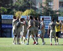 Fenerbahçe'den dört gollü prova