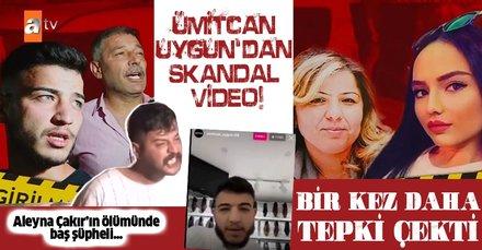 SON DAKİKA: Aleyna Çakır olayında Ümitcan Uygun'dan skandal yeni video! Kudurun, kafayı bozun!