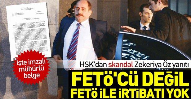 HSKdan skandal Zekeriya Öz yanıtı