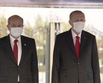KKTC Cumhurbaşkanı Ersin Tatar Külliye'de
