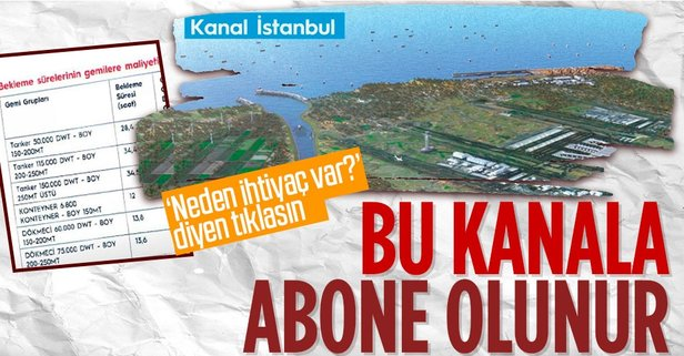 Kanal İstanbul'a neden ihtiyaç var?