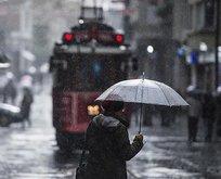 İstanbul ve birçok il için sağanak ve fırtına uyarısı