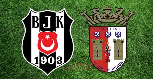 Beşiktaş Braga maçı ne zaman, saat kaçta?