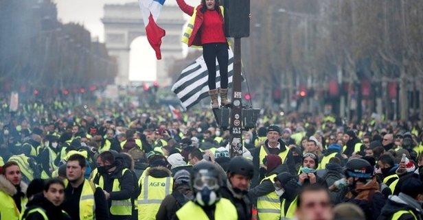 Paris'te eylem yasağı!