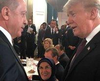 Cumhurbaşkanı Erdoğan, Trump ile sohbet etti