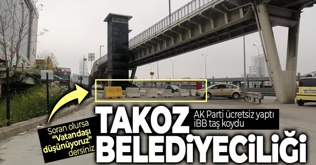 AK Parti ücretsiz yaptı İBB takoz koydu