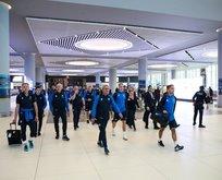 İzlanda Milli Takımı İstanbul'a geldi