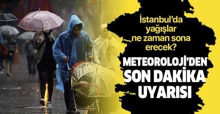 Son dakika: Meteoroloji'den birçok ile sağanak yağış uyarısı! İstanbul'da hava nasıl olacak? İstanbul'da dolu yağacak mı?