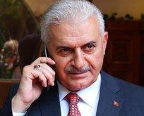 Başbakan Yıldırım'dan İhsanoğlu'na geçmiş olsun telefonu